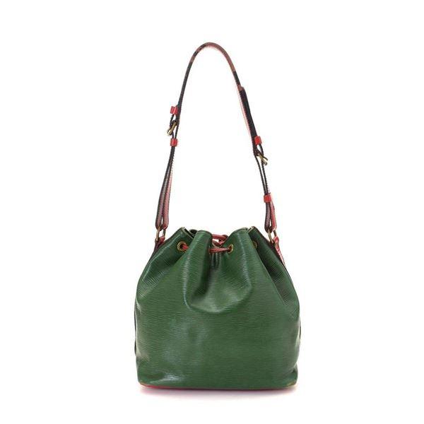 Louis Vuitton Green Monogram Petit Noe Handbag
