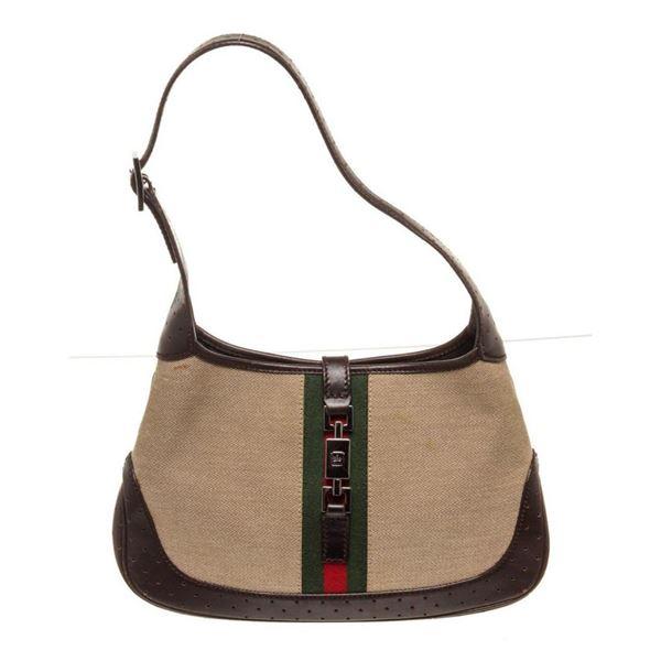 Gucci Brown Small Jackie Hobo Bag