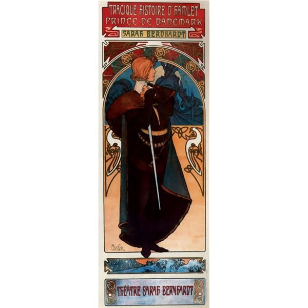 Alphonse Mucha - Hamlet
