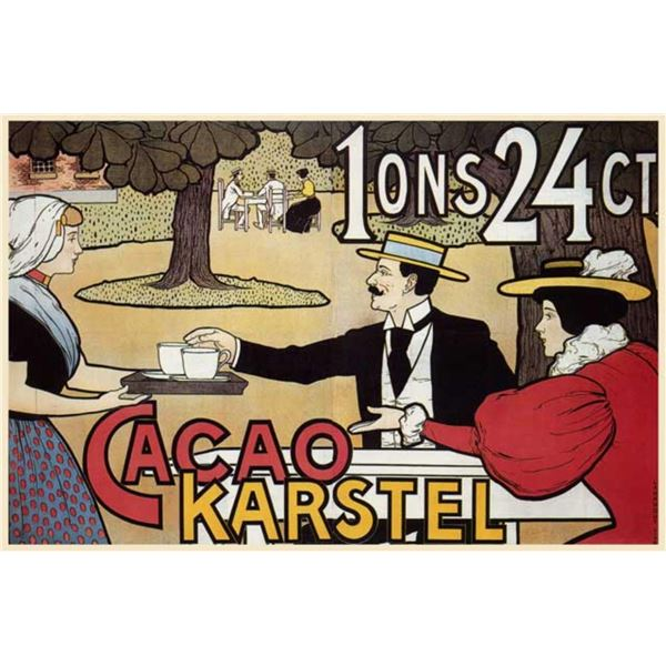 Johann Georg van Caspel - Cacao Karstel