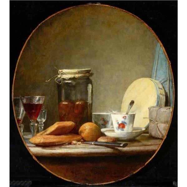 Jean Baptiste Chardin - Jar of Apricots