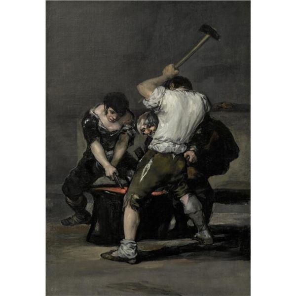 Francisco Goya - The Forge