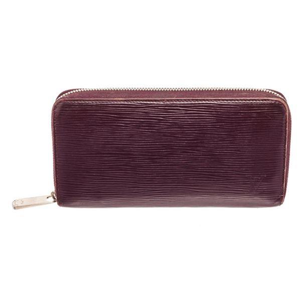 Louis Vuitton Cassis Epi Leather Zippy Wallet
