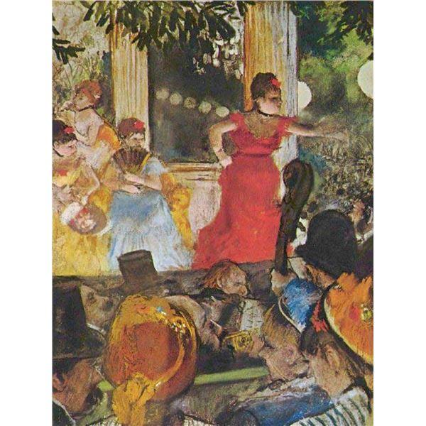 Edgar Degas - In Concert Cafe (Les Ambassadeurs)