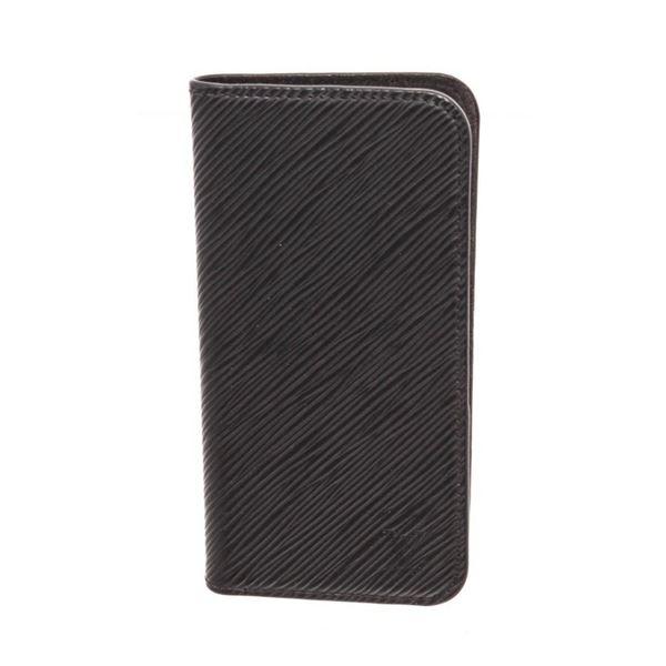 Louis Vuitton Black Epi Leather Iphone X Case Folio