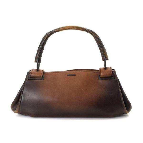 Gucci Brown Canvas Shoulder Bag