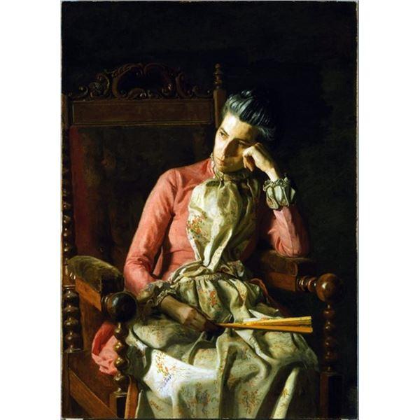 Thomas Eakins - Miss Amelia Van Buren