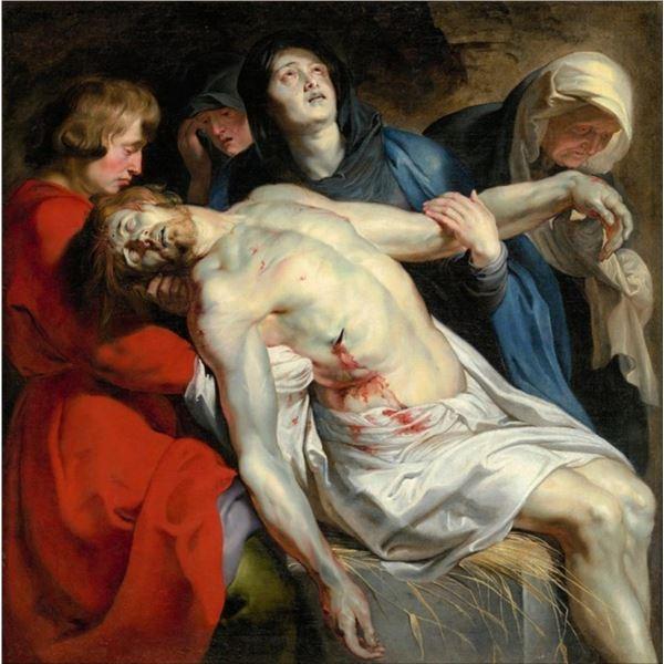 Sir Peter Paul Rubens - The Entombment
