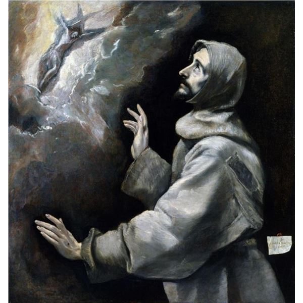 El Greco - Saint Francis Receiving the Stigmata