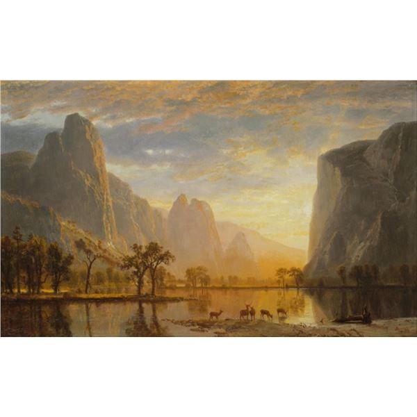 Bierstadt - Valley of Yosemite