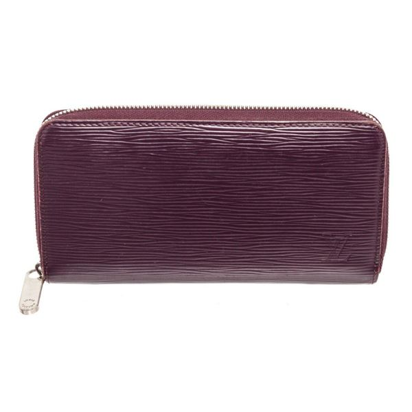 Louis Vuitton Amarante Epi Leather Zippy Wallet