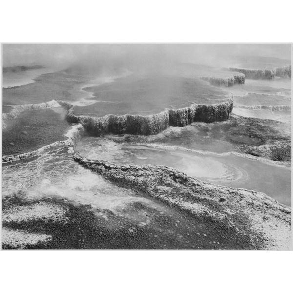 Adams - Jupiter Terrace - Fountain Geyser Pool, Yellowstone National Park