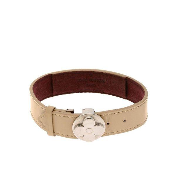 Louis Vuitton Beige Wish 16.5cm Bracelet