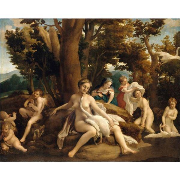 Antonio Allegri da Correggio - Leda and the Swan