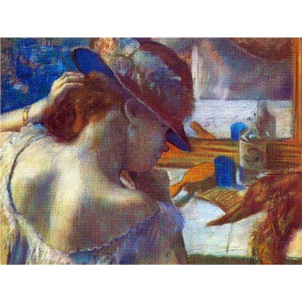 Edgar Degas - Before The Mirror