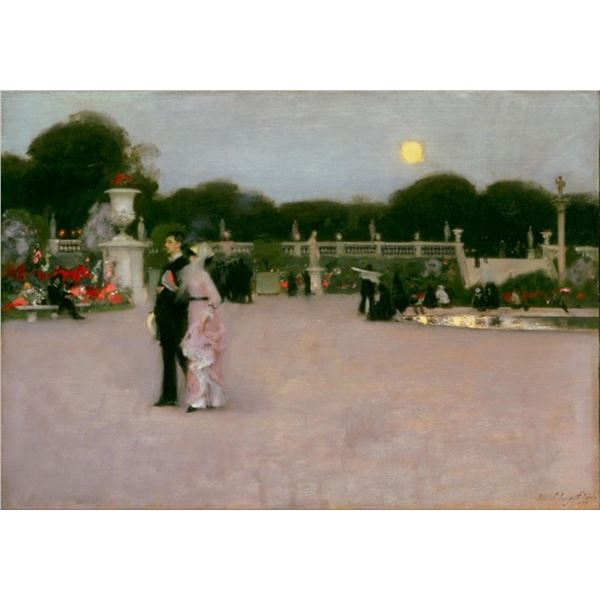 Sargent - In the Luxembourg Gardens
