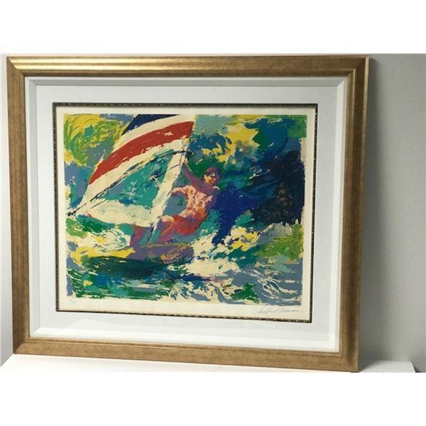 Windsurfer by LeRoy Neiman (1921-2012)