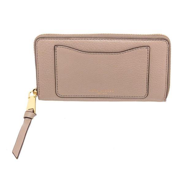 Marc Jacobs Grey Leather Zippy Wallet