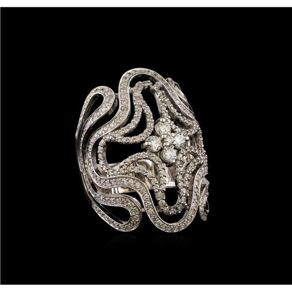 14KT White Gold 1.62 ctw Diamond Ring
