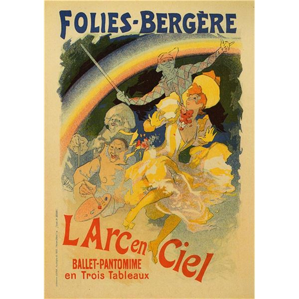 Jules Cheret - L'arc En Ciel