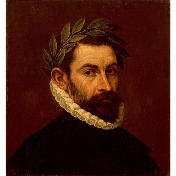 El Greco - Portrait of the Poet Alonso Zuniga