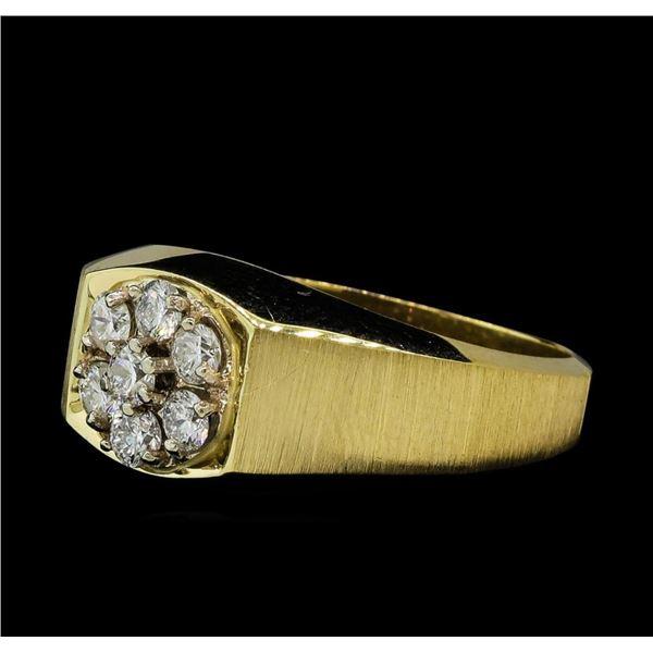 0.56 ctw Diamond Ring - 14KT Yellow Gold