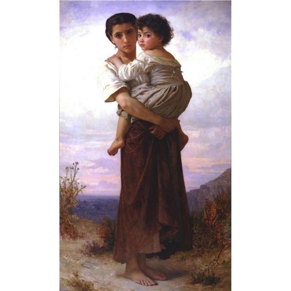 William Bouguereau - Young Gypsies