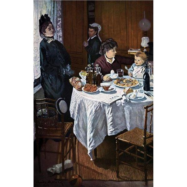 Claude Monet - The Lunch [1]