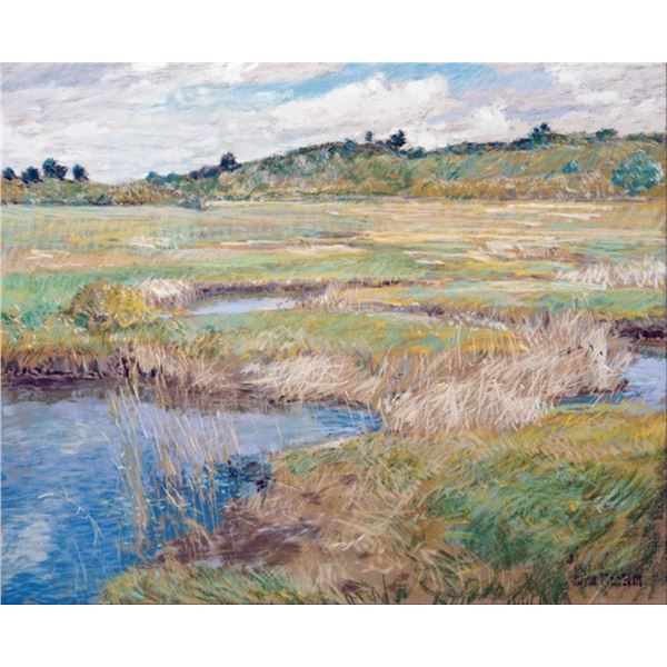 Childe Hassam - The Concord Meadow