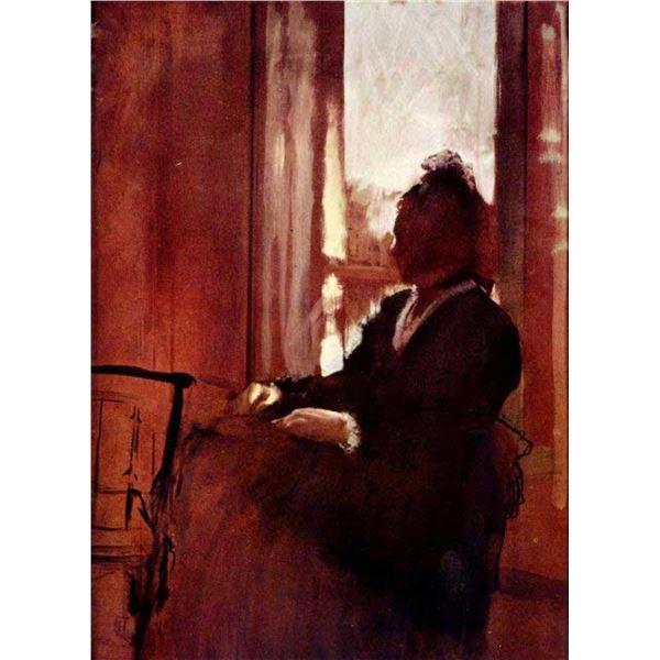 Edgar Degas - Woman At The Window