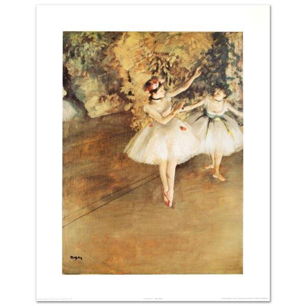 Two Ballerinas by Degas (1834-1917)