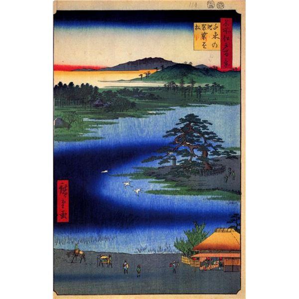 Hiroshige Senzoku Pond
