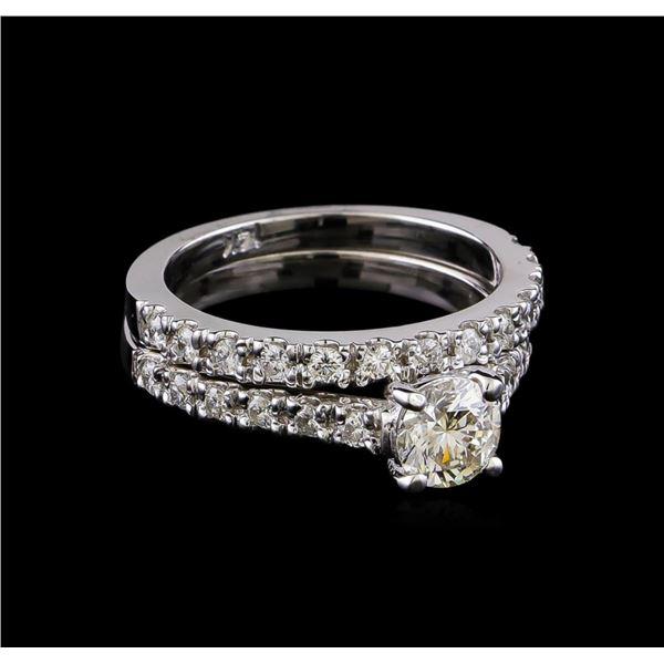 1.30 ctw Diamond Ring - 14KT White Gold