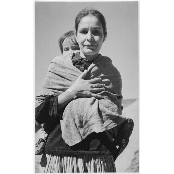 Adams - Dinee Woman and Child, Canyon de Chelle, Arizona