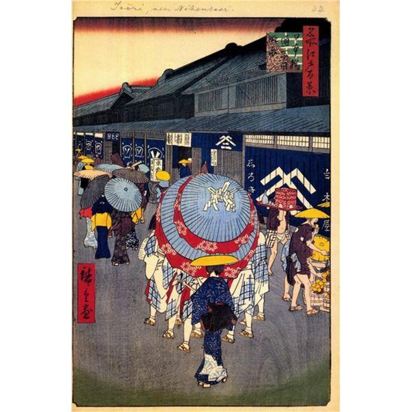 Hiroshige  - View of Nihonbash