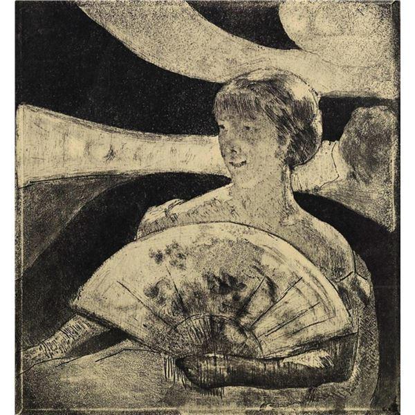 Mary Cassatt - The Opera Loge