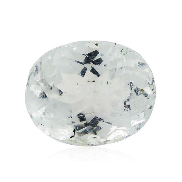 6.75 ct.Natural Oval Cut Aquamarine