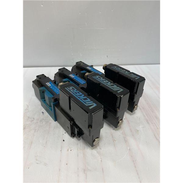 (3) Vickers # KBFDG4V 5 2C70N Z PC7 H7 10 Valves