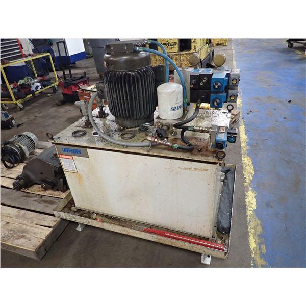 15 HP Eaton Hydraulic Unit