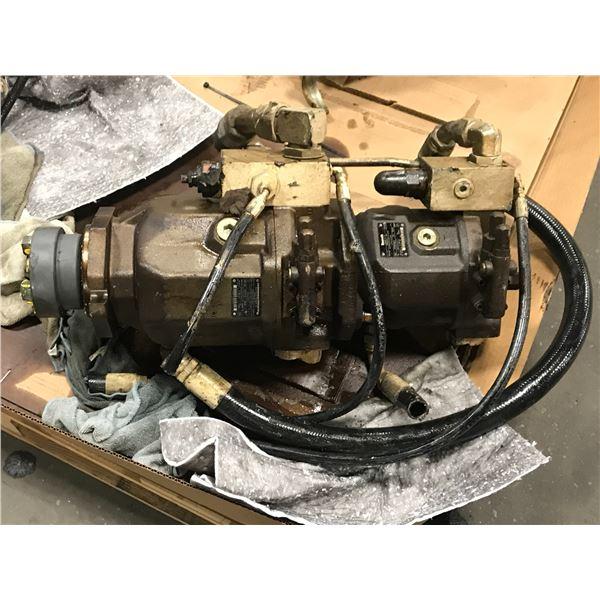 Rexroth Brueninghaus Double Hydraulic Pump