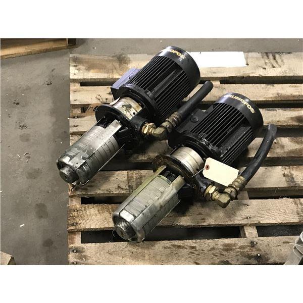 (2) Grundfos CRK2-70 Pump