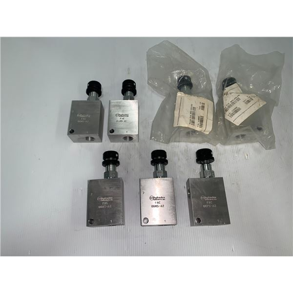 Lot of (7) NEW Sun Hydraulics #0GN5-A2 Valves