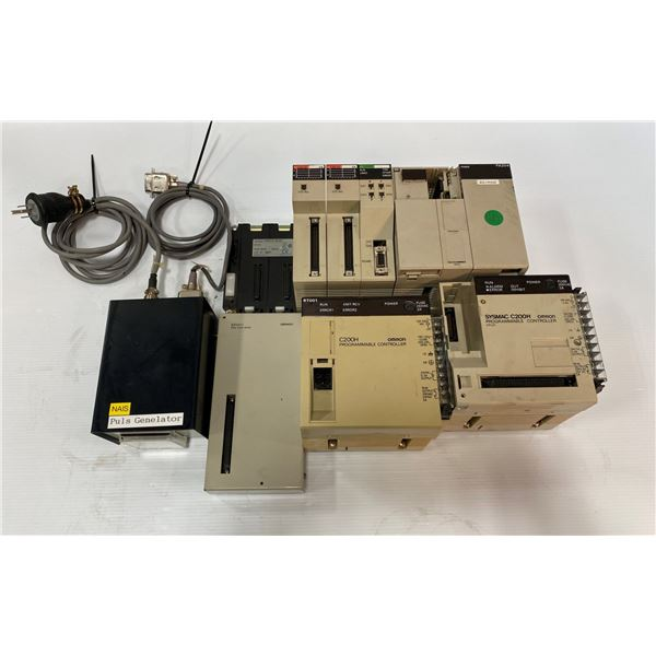 LOT OF OMRON COMPONENTS