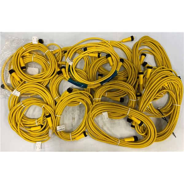 Lot of Misc Lumberg Automation Cables
