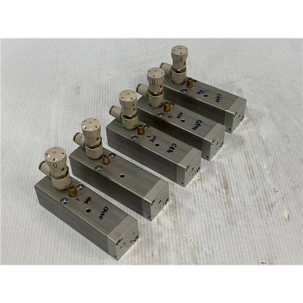 (5) Misc Valves No Name Or Tag