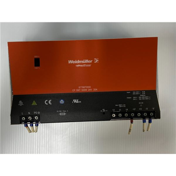 Weidmuller # 8778870000 Power Supply