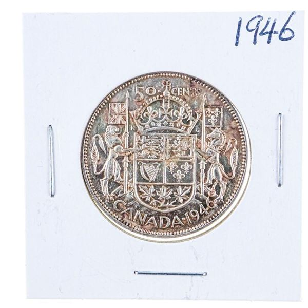 1946 Canada Silver 50 cents
