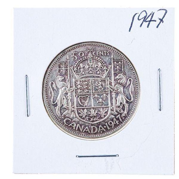 1947 Canada Silver 50 cents