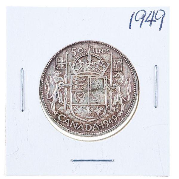 1949 Canada Silver 50 Cents