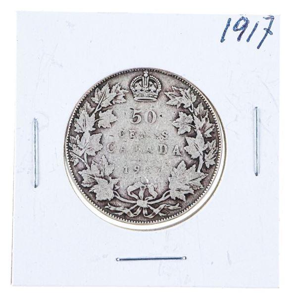 1917 Canada Silver 50 cents